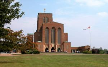 """Janet Matthews """"Guildford Cathedral"""""""