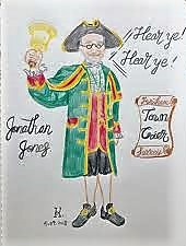 """Jonathan James """"The role of the Town Crier"""