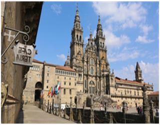 """Tess Burrows """"Walking the Camino de Santiago"""""""